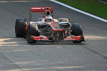 © 2012 Octane Photographic Ltd. Italian GP Monza - Friday 7th September 2012 - F1 Practice 1. McLaren MP4/27 - Jenson Button. Digital Ref : 0504cb7d1947