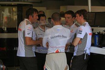 © 2012 Octane Photographic Ltd. Italian GP Monza - Friday 7th September 2012 - F1 Practice 1. McLaren MP4/27 - Lewis Hamilton. Digital Ref : 0505cb7d2031