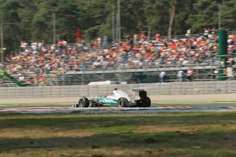© 2012 Octane Photographic Ltd. Italian GP Monza - Friday 7th September 2012 - F1 Practice 1. Mercedes W03 - Michael Schumacher. Digital Ref : 0505lw1d9175