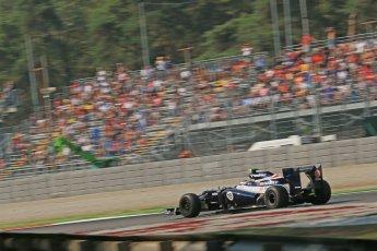 © 2012 Octane Photographic Ltd. Italian GP Monza - Friday 7th September 2012 - F1 Practice 1. Williams FW34 - Valtteri Bottas. Digital Ref : 0505lw1d9275