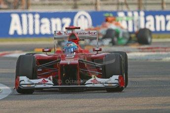 © 2012 Octane Photographic Ltd. Italian GP Monza - Friday 7th September 2012 - F1 Practice 1. Ferrari F2012 - Fernando Alonso. Digital Ref : 0505lw7d5401