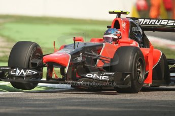 © 2012 Octane Photographic Ltd. Italian GP Monza - Friday 7th September 2012 - F1 Practice 1. Marussia MR01 - Charles Pic. Digital Ref : 0505lw7d6217