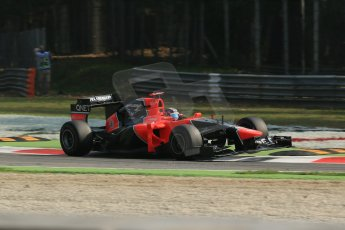 © 2012 Octane Photographic Ltd. Italian GP Monza - Saturday 8th September 2012 - F1 Practice 3. Marussia MR01 - Timo Glock. Digital Ref :