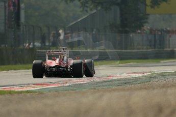 © 2012 Octane Photographic Ltd. Italian GP Monza - Saturday 8th September 2012 - F1 Practice 3. Ferrari F2012 - Fernando Alonso. Digital Ref : 0512lw1d1709