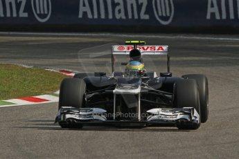 © 2012 Octane Photographic Ltd. Italian GP Monza - Saturday 8th September 2012 - F1 Practice 3. Williams FW34 - Bruno Senna. Digital Ref :