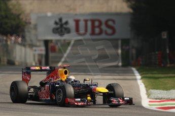 © 2012 Octane Photographic Ltd. Italian GP Monza - Saturday 8th September 2012 - F1 Practice 3. Red Bull RB8 - Sebastian Vettel. Digital Ref :
