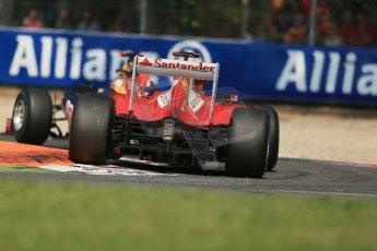World © Octane Photographic Ltd. Formula 1 Italian GP, 9th September 2012.  Ferrari F2012 - Fernando Alonso and Red Bell RB8 - Sebastian Vettel. Digital Ref : 0518lw1d0150