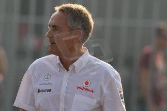 World © Octane Photographic Ltd. Formula 1 Italian GP, F1 Paddock. 9th September 2012. Martin Whitmarsh - Vodafone McLaren Mercedes. Digital Ref : 0517lw7d8619