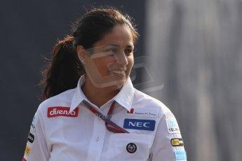 World © Octane Photographic Ltd. Formula 1 Italian GP, F1 Paddock. 9th September 2012 - Monisha Kaltenborn - Sauber. Digital Ref : 0517lw7d8807