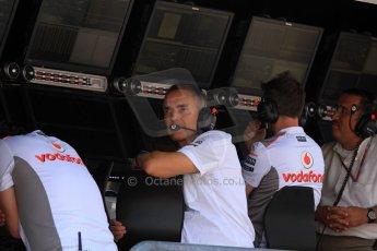 © 2012 Octane Photographic Ltd. Italian GP Monza - Friday 7th September 2012 - F1 Practice 2. McLaren - Martin Whitmarsh. Digital Ref :