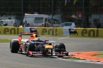 © 2012 Octane Photographic Ltd. Italian GP Monza - Friday 7th September 2012 - F1 Practice 2. Red Bull RB8 - Sebastian Vettel. Digital Ref :