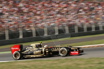 © 2012 Octane Photographic Ltd. Italian GP Monza - Friday 7th September 2012 - F1 Practice 2. Lotus E20 - Jerome d'Ambrosio. Digital Ref :