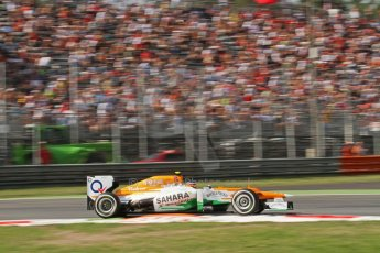 © 2012 Octane Photographic Ltd. Italian GP Monza - Friday 7th September 2012 - F1 Practice 2. Force India VJM05 - Nico Hulkenberg. Digital Ref :