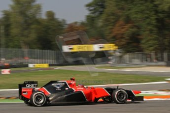 © 2012 Octane Photographic Ltd. Italian GP Monza - Friday 7th September 2012 - F1 Practice 2. Marussia MR01 - Timo Glock. Digital Ref :