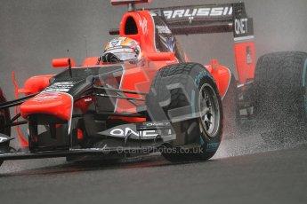 © 2012 Octane Photographic Ltd. Belgian GP Spa - Friday 31st August 2012 - F1 Practice 1. Marussia MR01 - Timo Glock. Digital Ref : 0481lw7d2509