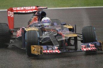 © 2012 Octane Photographic Ltd. Belgian GP Spa - Friday 31st August 2012 - F1 Practice 1. Toro Rosso STR7 - Daniel Ricciardo. Digital Ref : 0481lw7d2528