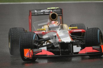 © 2012 Octane Photographic Ltd. Belgian GP Spa - Friday 31st August 2012 - F1 Practice 1. HRT F112 - Dani Clos. Digital Ref : 0481lw7d2561