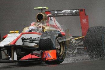 © 2012 Octane Photographic Ltd. Belgian GP Spa - Friday 31st August 2012 - F1 Practice 1. HRT F112 - Dani Clos. Digital Ref : 0481lw7d2564