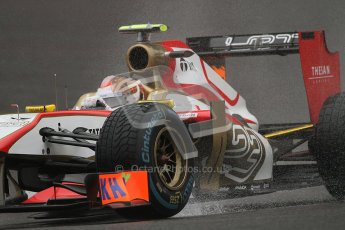 © 2012 Octane Photographic Ltd. Belgian GP Spa - Friday 31st August 2012 - F1 Practice 1. HRT F112 - Dani Clos. Digital Ref : 0481lw7d2565