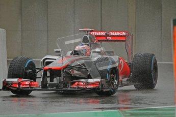 © 2012 Octane Photographic Ltd. Belgian GP Spa - Friday 31st August 2012 - F1 Practice 1. McLaren MP4/27 - Jenson Button. Digital Ref :  0481lw7d2795