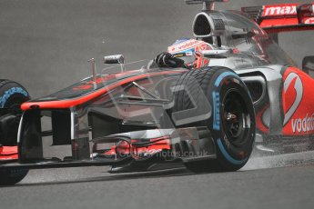 © 2012 Octane Photographic Ltd. Belgian GP Spa - Friday 31st August 2012 - F1 Practice 1. McLaren MP4/27 - Jenson Button. Digital Ref :  0481lw7d2861