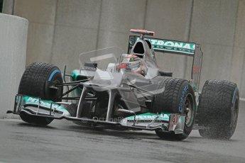 © 2012 Octane Photographic Ltd. Belgian GP Spa - Friday 31st August 2012 - F1 Practice 1. Mercedes W03 - Michael Schumacher. Digital Ref : 0481lw7d2876
