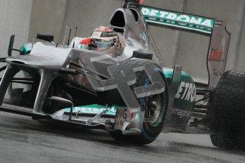 © 2012 Octane Photographic Ltd. Belgian GP Spa - Friday 31st August 2012 - F1 Practice 1. Mercedes W03 - Michael Schumacher. Digital Ref : 0481lw7d2877