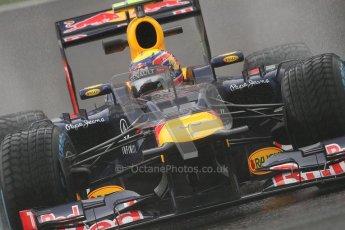 © 2012 Octane Photographic Ltd. Belgian GP Spa - Friday 31st August 2012 - F1 Practice 1. Red Bull RB8 - Mark Webber. Digital Ref : 0481lw7d3011