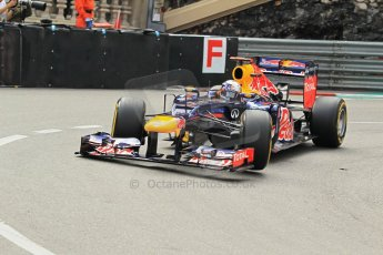 © Octane Photographic Ltd. 2012. F1 Monte Carlo - Practice 2. Thursday 24th May 2012. Sebastian Vettel - Red Bull. Digital Ref : 0352cb1d5787