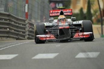 © Octane Photographic Ltd. 2012. F1 Monte Carlo - Practice 2. Thursday 24th May 2012. Lewis Hamilton - McLaren. Digital Ref : 0352cb1d6039