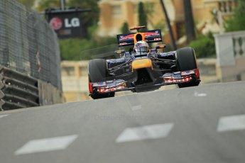© Octane Photographic Ltd. 2012. F1 Monte Carlo - Practice 2. Thursday 24th May 2012. Sebastian Vettel - Red Bull. Digital Ref  : 0352cb1d6048