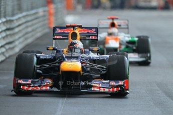 © Octane Photographic Ltd. 2012. F1 Monte Carlo - Practice 2. Thursday 24th May 2012. Sebastian Vettel - Red Bull. Digital Ref : 0352cb1d6111