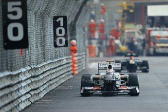 © Octane Photographic Ltd. 2012. F1 Monte Carlo - Practice 2. Thursday 24th May 2012. Kamui Kobayashi - Sauber. Digital Ref : 0352cb1d6227