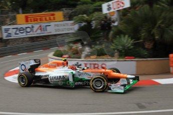 © Octane Photographic Ltd. 2012. F1 Monte Carlo - Practice 2. Thursday 24th May 2012. Nico Hulkenberg - Force India. Digital Ref : 0352cb7d8040