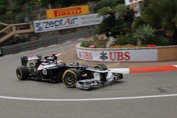 © Octane Photographic Ltd. 2012. F1 Monte Carlo - Practice 2. Thursday 24th May 2012. Pastor Maldonado - Williams. Digital Ref : 0352cb7d8061