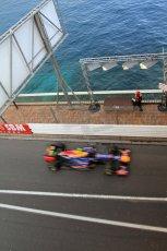 © Octane Photographic Ltd. 2012. F1 Monte Carlo - Practice 2. Thursday 24th May 2012. Mark Webber - Red Bull. Digital Ref : 0352cb7d8196