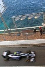 © Octane Photographic Ltd. 2012. F1 Monte Carlo - Practice 2. Thursday 24th May 2012. Bruno Senna - Williams. Digital Ref : 0353cb7d8190