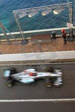 © Octane Photographic Ltd. 2012. F1 Monte Carlo - Practice 2. Thursday 24th May 2012. Michael Schumacher - Mercedes. Digital Ref : 0353cb7d8195