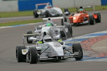 © Octane Photographic Ltd. 2012. Donington Park. Saturday 18th August 2012. Formula Renault BARC Qualifying session. David Wagner - MGR Motorsport. Digital Ref : 0460cb1d2445