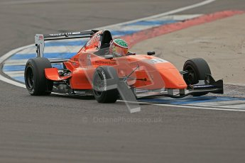 © Octane Photographic Ltd. 2012. Donington Park. Saturday 18th August 2012. Formula Renault BARC Qualifying session. Seb Morris - Fortec Motorsports. Digital Ref : 0460cb1d2481