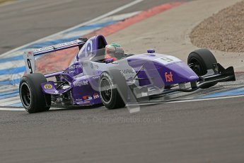 © Octane Photographic Ltd. 2012. Donington Park. Saturday 18th August 2012. Formula Renault BARC Qualifying session. Josh Webster - MGR Motorsport. Digital Ref : 0460cb1d2559