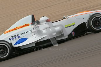 © Octane Photographic Ltd. 2012. Donington Park. Saturday 18th August 2012. Formula Renault BARC Qualifying session. Digital Ref :