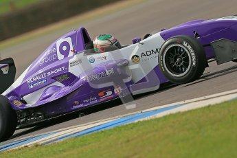 © Octane Photographic Ltd. 2012. Donington Park. Saturday 18th August 2012. Formula Renault BARC Qualifying session. Josh Webster - MGR Motorsport. Digital Ref : 0460cb1d2681