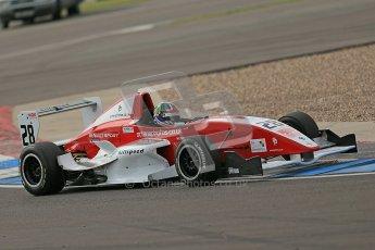 © Octane Photographic Ltd. 2012. Donington Park. Saturday 18th August 2012. Formula Renault BARC Qualifying session. Kieran Vernon - Hillspeed. Digital Ref : 0460cb1d2703