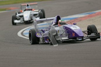 © Octane Photographic Ltd. 2012. Donington Park. Saturday 18th August 2012. Formula Renault BARC Qualifying session. Josh Webster - MGR Motorsport. Digital Ref : 0460cb1d2856
