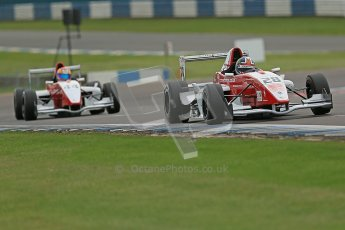 © Octane Photographic Ltd. 2012. Donington Park. Saturday 18th August 2012. Formula Renault BARC Qualifying session. Kieran Vernon - Hillspeed. Digital Ref : 0460cb1d2889
