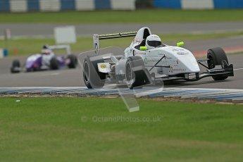 © Octane Photographic Ltd. 2012. Donington Park. Saturday 18th August 2012. Formula Renault BARC Qualifying session. David Wagner - MGR Motorsport. Digital Ref : 0460cb1d2896
