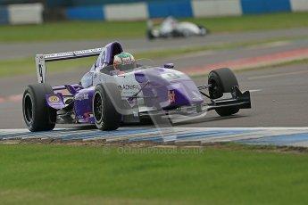 © Octane Photographic Ltd. 2012. Donington Park. Saturday 18th August 2012. Formula Renault BARC Qualifying session. Josh Webster - MGR Motorsport. Digital Ref : 0460cb1d2904