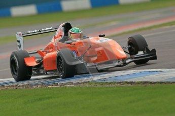 © Octane Photographic Ltd. 2012. Donington Park. Saturday 18th August 2012. Formula Renault BARC Qualifying session. Seb Morris - Fortec Motorsports. Digital Ref : 0460cb1d2938