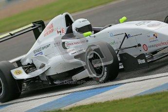 © Octane Photographic Ltd. 2012. Donington Park. Saturday 18th August 2012. Formula Renault BARC Qualifying session. David Wagner - MGR Motorsport. Digital Ref : 0460cb1d2949